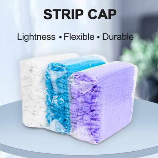 disposable strip cap