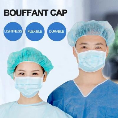 disposable pp bouffant cap
